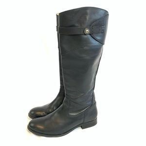 Frye Black Leather Riding Boots AMAZING